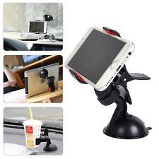 Universal Car Windshield Clip Mount Holder Phones GPS Stand Bracket 360°Rotating