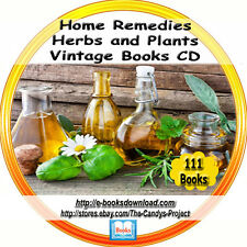 Home Remedies Herbal Rare Natural Cures for Illness 111  Books DVD