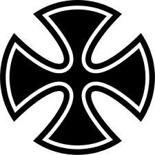 Malteserkreuz Maltese Cross 66 Aufkleber