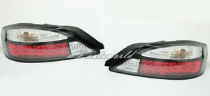 Crystal LED rear tail lights Black For NISSAN 1999-2002 Silvia S15 200SX