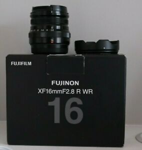 Fujifilm Fujinon XF16mm F2.8 R Lens - Black. Used, mint condition.