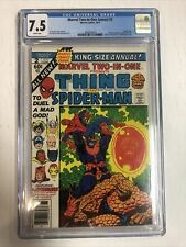 Marvel Two-In-one (1977) # 2 (CGC 7.5 WP) | Thanos App By Jim Starlin