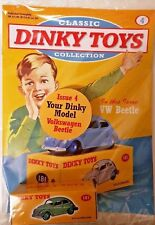 Classic Dinky Toys Collection magazine Part # 4 Volkswagen Beetle