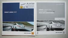 Prospekt Renault Laguna Coupe, 3.2011, 24 Seiten + Preise/Ausstattung