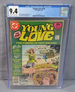 YOUNG LOVE #125 (Walt Simonson Cover, Toth) CGC 9.4 NM DC Comics 1977 Romance