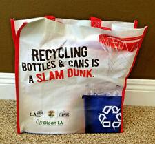 Los Angeles Clippers Re-Usable Shopping Bag Staples Center Promo SGA
