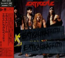 EXTREME: Extragraffitti (1990) CD aus Japan, A&M Records, PCCY-10155, mit OBI