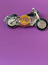 Hard Rock Cafe Puerto Vallarta Green Black Harley Motorcycle Pin HRC #7599