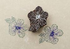 floral wood printing blocks India Exotic Wooden Block Stamp textile blocks