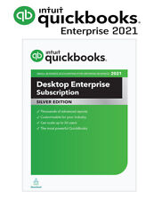 QuickBooks Enterprise 2021 Silver Edition, 1 User - 1 Year Subscription