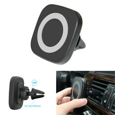 Wireless Car Charger Charging Magnetic Mount Dashboard Holder For iPhone Samsung