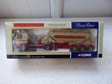 *CORGI: LEYLAND DAF W.H.HIGGIN POWDER TANKER* 1:50 Diecast Model Ltd Edition