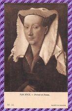 Carte Postale - VAN EYCK - Portrait de Femme