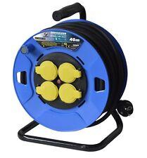 Rallonge Electrique 40 M. 3G1,5 - 4 Prises - Enrouleur -I-EE4D07-1540