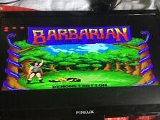 Megadrive Genesis Barbarian Region Free Cart Solo Gioco cart last 1 sinistro