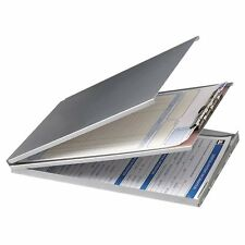 """Oic Aluminum Storage Clipboard - 30 Compartment - Top Opening - 8.50"""" (oic83206)"""