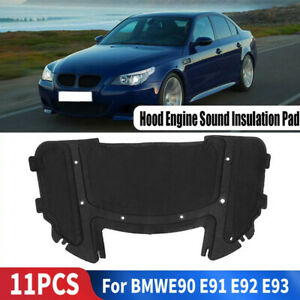 Hood Engine Sound Insulation Pad for BMW E90 E91 E92 E93 323i 325i 51487059260