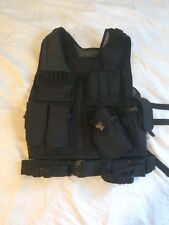 Swat Style Tactical Vest Black In Gr