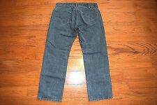 Levi's 559 - RELAXED Fit STRAIGHT Leg Gray / Black Jeans - Men Size 35 x 31