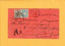 Italy St Michell & St Serino Registered FWD  NY City Boxed Violet Rockford IL ZX