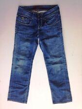 Tommy Hilfiger Jeans pantalon bleu foncé stonewashed w29 l32