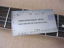 Guitar String Action Gauge - Metric