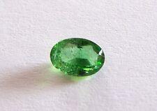 Tsavorit  grüner Granat oval  1,83 Carat  8,3 x 6,2 mm