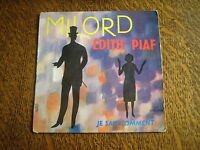 45 tours edith piaf milord
