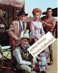 James Arness Marshal Dillon Gunsmoke 60's Cast W/ Burt Reynolds   8 x 10 Photo