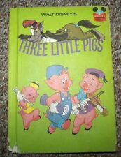 Walt Disney Three Little Pigs Book 1972