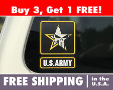 US ARMY Bumper Sticker Punisher Skull, Special Ops Snipers