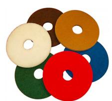 More details for 5 x floor maintenance pads rotary scrub drier machine burnishing buffing polish