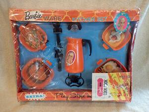 ULTRA RARE 1972 MIB Barbie Doll Barbie Ware Kitchen Set Toy Dishes