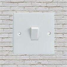 WHITE BRICK PATTERN Electrical Light Switch Surround Printed Vinyl Sticker