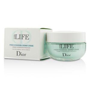 DIOR Hydra Life Fresh Hydration Sorbet Creme 50ml Moisturising Cream Gel - NEW