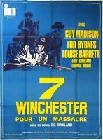 Plakat Kino Western Sieben Winchester Für Un Massacre - 120 X 160 CM