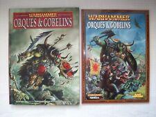 Livres d'armée Orques & Gobelins OOP pour Warhammer