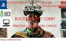 Call of Duty: Black Ops Cold War Zombie Boost Lobby Prestige PS4/XBOX/PC