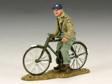 KING AND COUNTRY USAAF Ground Crew on Bicycle AF16 AF016
