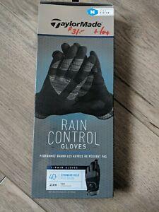 TaylorMade Rain Control Golf Gloves - NEW men's medium