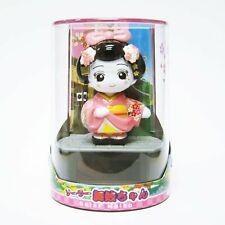Solar Figurine Japanese Maiko-chan (Pink)
