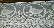 Uncut 12 Vintage Cotton Lace Panels Ducks sewing craft quilting Victorian style