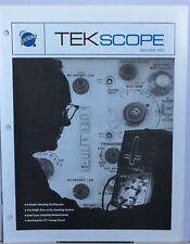 TEKTRONIX-tekscope MAGAZINE MAGGIO/GIUGNO 19 -16 PAGINE-campionamento 5SN14