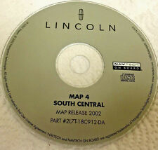 2003 LINCOLN NAVIGATOR SPORT NAVIGATION MAP NAV DISC CD S CENTRAL AR LA MS OK TN