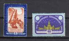 Russia 1958 Sc.2093-4 Zag 2106-7 X Congress of Astronomical Union MNHOG CV $7.60