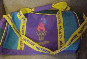 1996 Atlanta Olympics Vintage 100th Anniversary Gym Duffel Bag