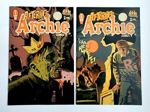 AFTERLIFE WITH ARCHIE #1 Variant & #2 ~ Archie 2013 ~ Lot of 2!