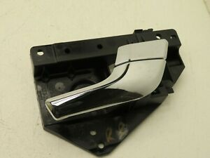 2009-2014 JAGUAR XF REAR RIGHT PASSENGER SIDE INTERIOR DOOR HANDLE W/ PANEL OEM