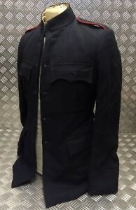 Genuine British Army No1 Blues Dress Jacket w Red Pipe Shoulder Straps Faulty