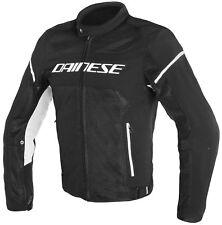 Dainese Air Frame D1 Tex Jacket Black/black/white 52